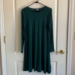 Dark Green Dress